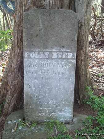 DYER, POLLY - Washington County, Arkansas | POLLY DYER - Arkansas Gravestone Photos