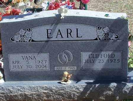 EARL, VANA - Washington County, Arkansas | VANA EARL - Arkansas Gravestone Photos