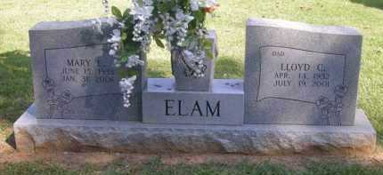 ELAM, LLOYD C - Washington County, Arkansas | LLOYD C ELAM - Arkansas Gravestone Photos