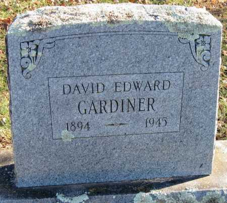 GARDINER, DAVID EDWARD - Washington County, Arkansas | DAVID EDWARD GARDINER - Arkansas Gravestone Photos