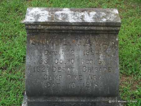 GAYER (VETERAN), SAM L - Washington County, Arkansas   SAM L GAYER (VETERAN) - Arkansas Gravestone Photos