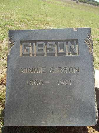 GIBSON, MINNIE - Washington County, Arkansas | MINNIE GIBSON - Arkansas Gravestone Photos