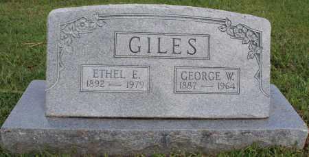 GILES, GEORGE W. - Washington County, Arkansas   GEORGE W. GILES - Arkansas Gravestone Photos