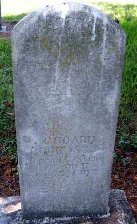 GODDARD, CAIN OR KING - Washington County, Arkansas   CAIN OR KING GODDARD - Arkansas Gravestone Photos