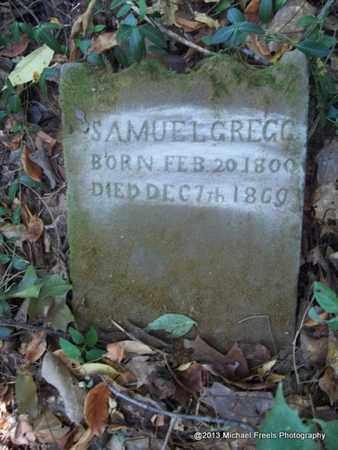 GREGG, SAMUEL OLE - Washington County, Arkansas | SAMUEL OLE GREGG - Arkansas Gravestone Photos