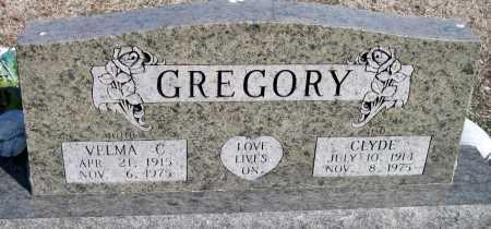GREGORY, CLYDE - Washington County, Arkansas | CLYDE GREGORY - Arkansas Gravestone Photos