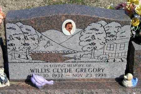 GREGORY, WILLIS CLYDE - Washington County, Arkansas | WILLIS CLYDE GREGORY - Arkansas Gravestone Photos