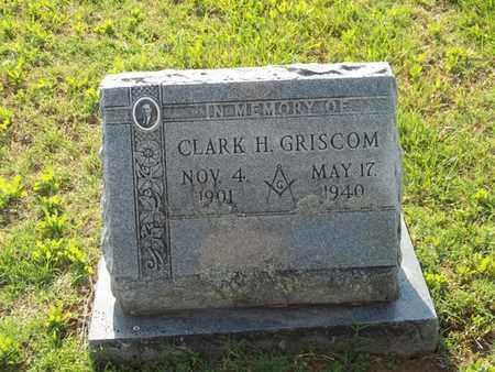 GRISCOM, CLARK H - Washington County, Arkansas | CLARK H GRISCOM - Arkansas Gravestone Photos
