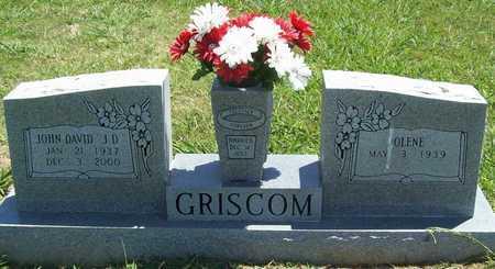 "GRISCOM, JOHN DAVID ""J D"" - Washington County, Arkansas | JOHN DAVID ""J D"" GRISCOM - Arkansas Gravestone Photos"