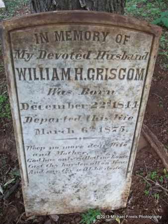 GRISCOM, WILLIAM H - Washington County, Arkansas | WILLIAM H GRISCOM - Arkansas Gravestone Photos