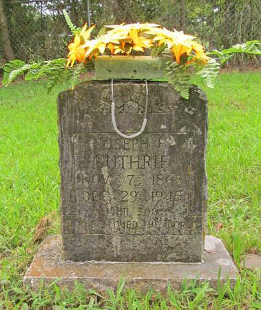 GUTHRIE, JOSEPH H - Washington County, Arkansas   JOSEPH H GUTHRIE - Arkansas Gravestone Photos