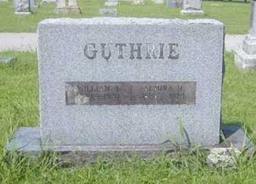 GUTHRIE, WILLIAM J - Washington County, Arkansas | WILLIAM J GUTHRIE - Arkansas Gravestone Photos
