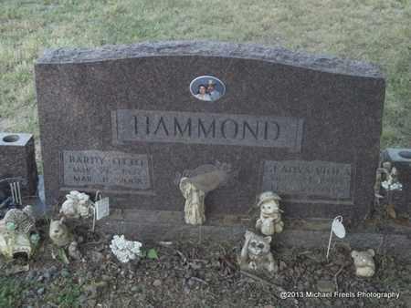 HAMMOND, BARDY OTTO - Washington County, Arkansas | BARDY OTTO HAMMOND - Arkansas Gravestone Photos