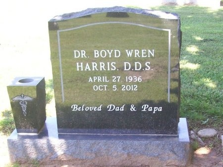 HARRIS, BOYD WREN DDS - Washington County, Arkansas | BOYD WREN DDS HARRIS - Arkansas Gravestone Photos