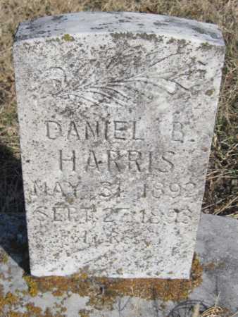 HARRIS, DANIEL B - Washington County, Arkansas | DANIEL B HARRIS - Arkansas Gravestone Photos