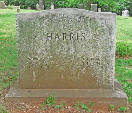 HARRIS, SARAH A - Washington County, Arkansas | SARAH A HARRIS - Arkansas Gravestone Photos