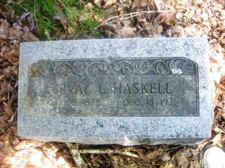HASKELL, ORVAL L. - Washington County, Arkansas | ORVAL L. HASKELL - Arkansas Gravestone Photos
