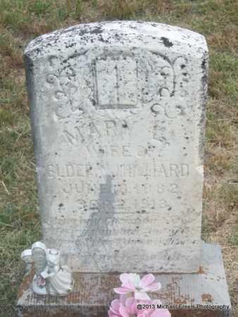 HILLIARD, MARY L - Washington County, Arkansas | MARY L HILLIARD - Arkansas Gravestone Photos