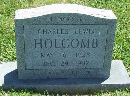HOLCOMB, CHARLES LEWIS - Washington County, Arkansas | CHARLES LEWIS HOLCOMB - Arkansas Gravestone Photos
