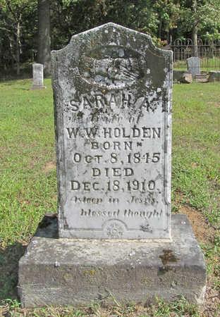 HOLDEN, SARAH AMANDA - Washington County, Arkansas | SARAH AMANDA HOLDEN - Arkansas Gravestone Photos