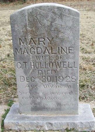 HOLLOWELL, MARY MAGDALINE - Washington County, Arkansas   MARY MAGDALINE HOLLOWELL - Arkansas Gravestone Photos