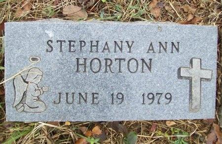 HORTON, STEPHANY ANN - Washington County, Arkansas | STEPHANY ANN HORTON - Arkansas Gravestone Photos