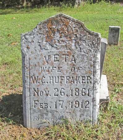FELTON HUFFAKER, KERLESSA VETA - Washington County, Arkansas | KERLESSA VETA FELTON HUFFAKER - Arkansas Gravestone Photos
