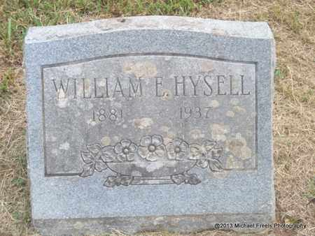 HYSELL, WILLIAM E - Washington County, Arkansas | WILLIAM E HYSELL - Arkansas Gravestone Photos