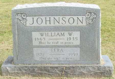 JOHNSON, WILLIAM W. - Washington County, Arkansas   WILLIAM W. JOHNSON - Arkansas Gravestone Photos
