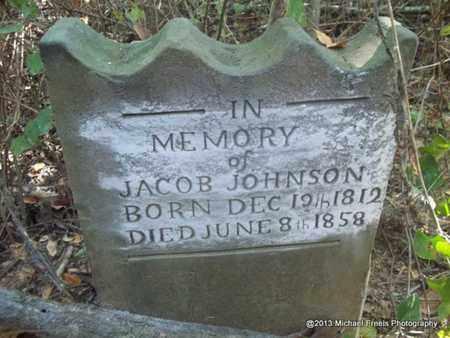 JOHNSON, JACOB - Washington County, Arkansas | JACOB JOHNSON - Arkansas Gravestone Photos