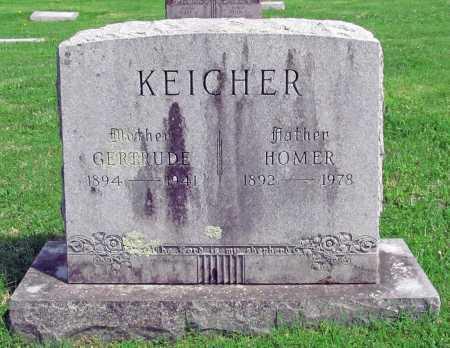 KEICHER, HOMER - Washington County, Arkansas | HOMER KEICHER - Arkansas Gravestone Photos