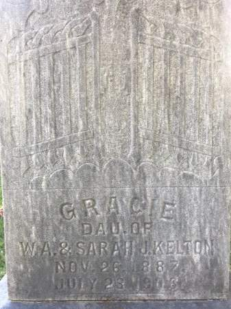 KELTON, GRACIE - Washington County, Arkansas   GRACIE KELTON - Arkansas Gravestone Photos