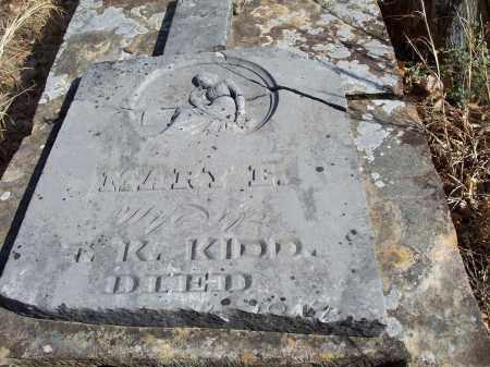 KIDD, MARY E. [PIC 2] - Washington County, Arkansas | MARY E. [PIC 2] KIDD - Arkansas Gravestone Photos
