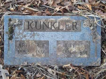 KUNKLER, ROY H - Washington County, Arkansas | ROY H KUNKLER - Arkansas Gravestone Photos