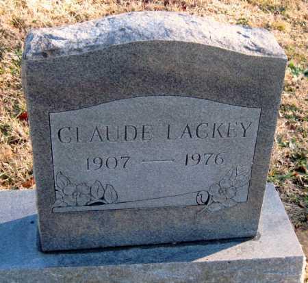 LACKEY, CLAUDE - Washington County, Arkansas | CLAUDE LACKEY - Arkansas Gravestone Photos