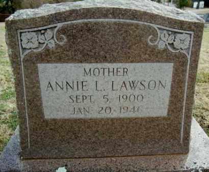 LAWSON, ANNIE L. - Washington County, Arkansas | ANNIE L. LAWSON - Arkansas Gravestone Photos