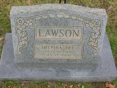 LAWSON, DELPHIA DEE - Washington County, Arkansas | DELPHIA DEE LAWSON - Arkansas Gravestone Photos
