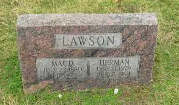 LAWSON, MAUD - Washington County, Arkansas | MAUD LAWSON - Arkansas Gravestone Photos