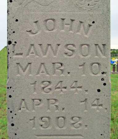 LAWSON, JOHN (CLOSEUP) - Washington County, Arkansas   JOHN (CLOSEUP) LAWSON - Arkansas Gravestone Photos