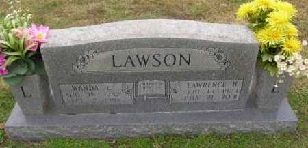 LAWSON, LAWRENCE H - Washington County, Arkansas | LAWRENCE H LAWSON - Arkansas Gravestone Photos