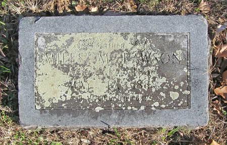LAWSON, MILES M - Washington County, Arkansas | MILES M LAWSON - Arkansas Gravestone Photos