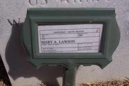 LAWSON, MARY ADELE - Washington County, Arkansas | MARY ADELE LAWSON - Arkansas Gravestone Photos