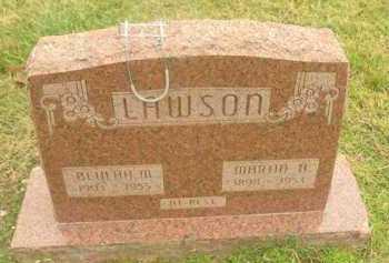 LAWSON, BEULAH M - Washington County, Arkansas | BEULAH M LAWSON - Arkansas Gravestone Photos