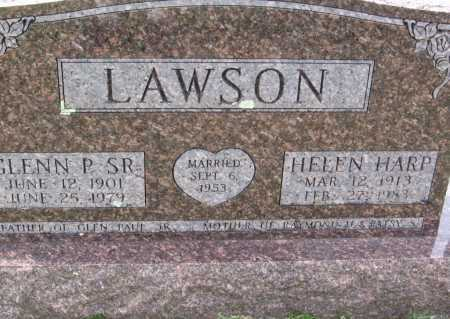 HARP LAWSON, HELEN - Washington County, Arkansas | HELEN HARP LAWSON - Arkansas Gravestone Photos
