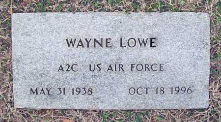 LOWE (VETERAN), WAYNE - Washington County, Arkansas | WAYNE LOWE (VETERAN) - Arkansas Gravestone Photos