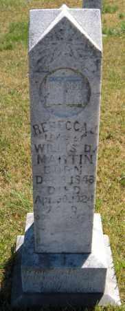 MARTIN, REBECCA J - Washington County, Arkansas | REBECCA J MARTIN - Arkansas Gravestone Photos