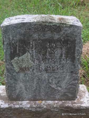 MCCOY, MARY JANE - Washington County, Arkansas | MARY JANE MCCOY - Arkansas Gravestone Photos