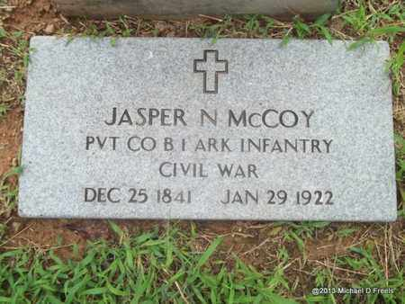 MCCOY (VETERAN UNION), JASPER N - Washington County, Arkansas | JASPER N MCCOY (VETERAN UNION) - Arkansas Gravestone Photos