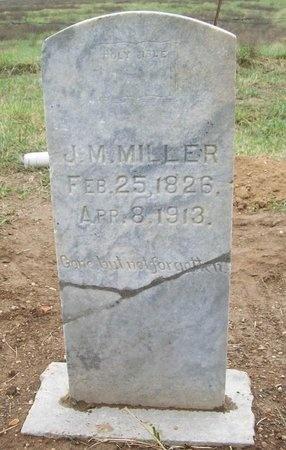 MILLER, J M - Washington County, Arkansas | J M MILLER - Arkansas Gravestone Photos