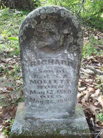 MOFFETT, RICHARD - Washington County, Arkansas | RICHARD MOFFETT - Arkansas Gravestone Photos